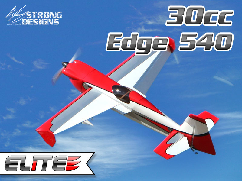 30cc Strong Designs Edge 540 Red Elite