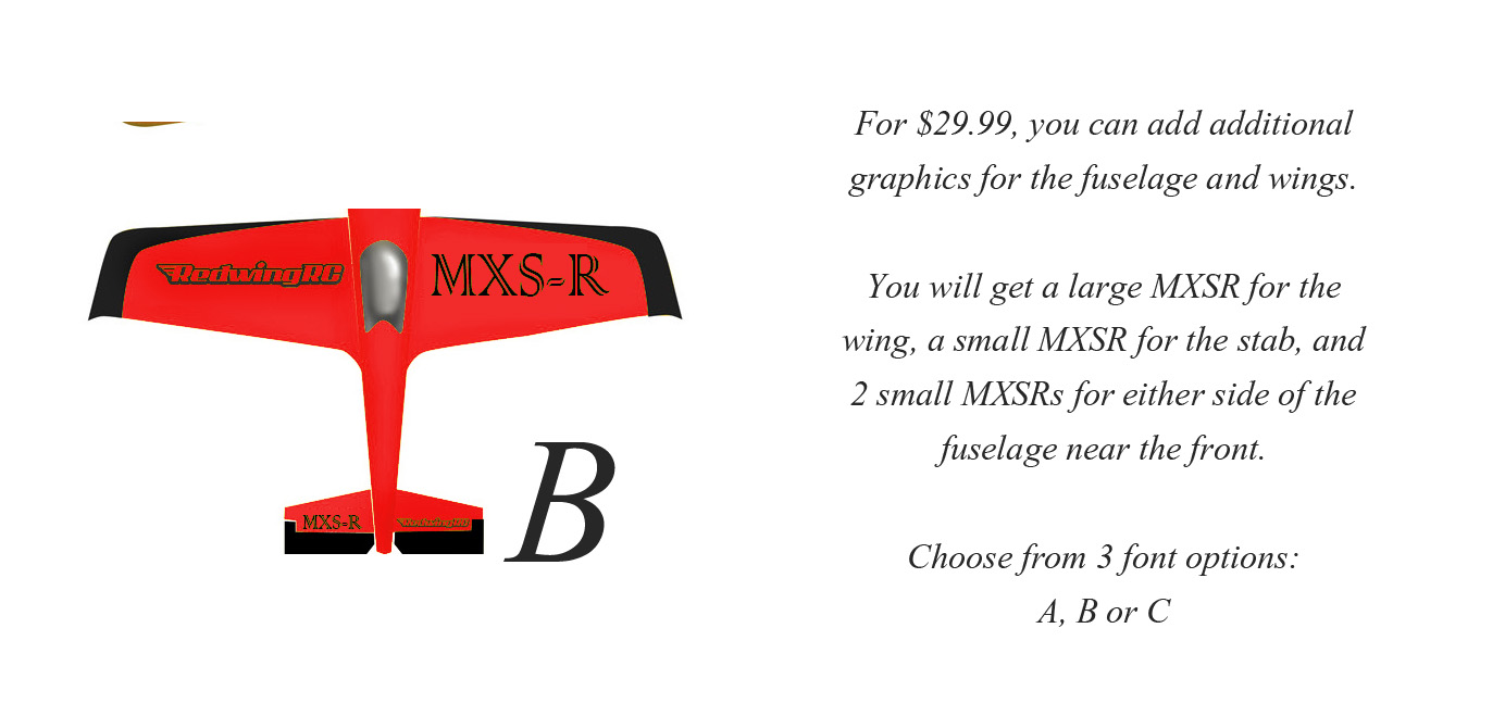 30cc MXSR Graphics Set