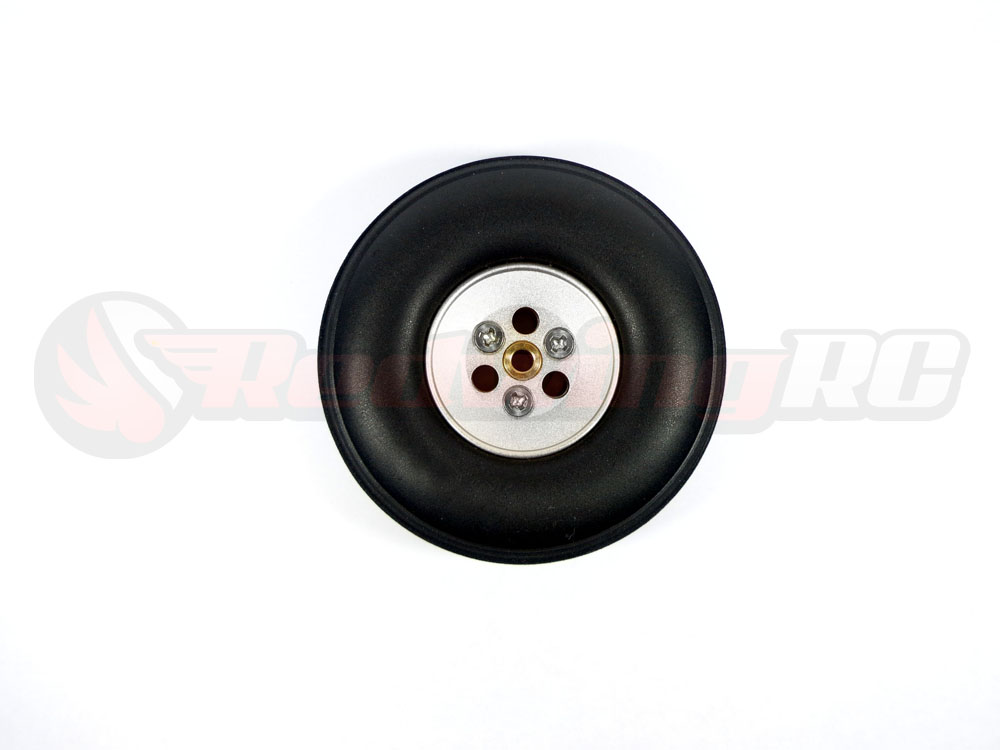 Aluminum Hub Rubber Wheels