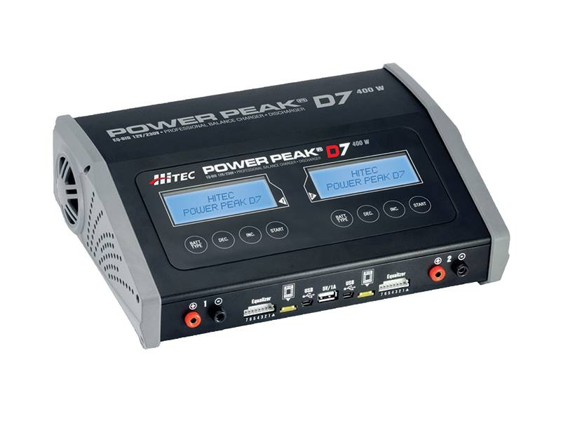 Power Peak D7 400 W AC/DC Dual Balance Charger / Discharger
