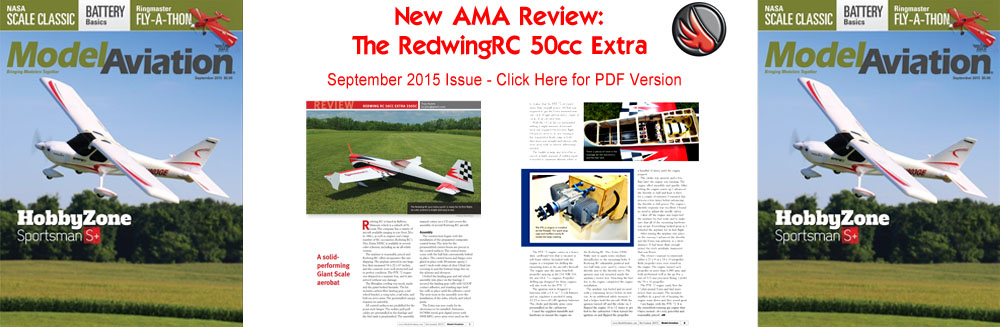 NEW 50cc Extra 330 AMA Review